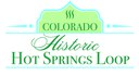 Colorado Historic Hot Springs Loop logo
