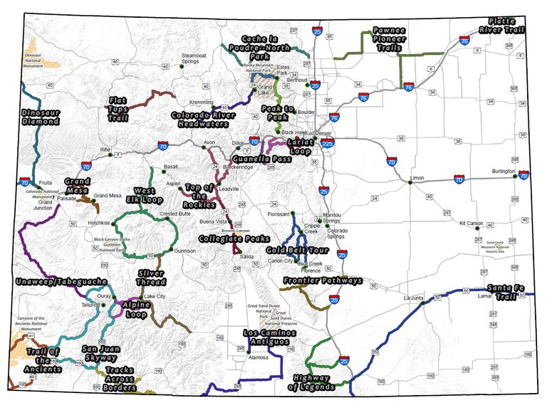 colorado byways map