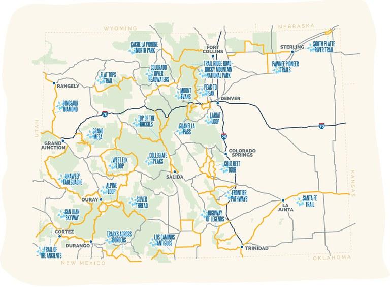 colorado byways map