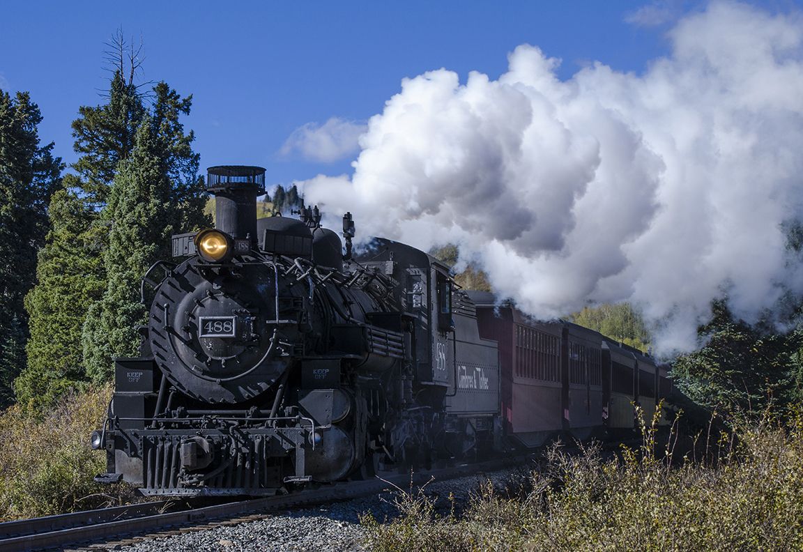 Combres & Toltec Scenic Train photo by Cathy Edwards